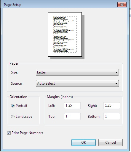 how-to-set-page-in-wordpad