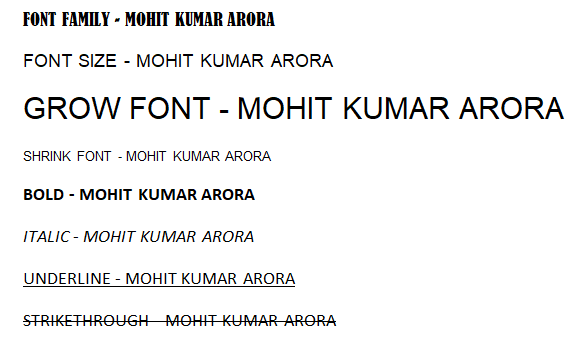 how-to-change-font