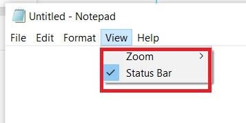 view-menu-in-notepad